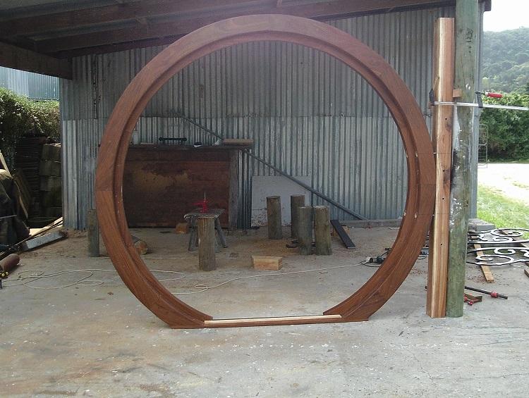 Hobbit Door Custom Made Hobbit Door