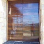 home entrance door