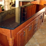 custom made furniture - central island kitchen
