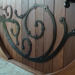 Custom round door