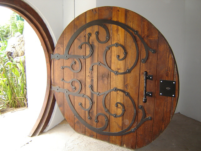 Afromosia *. Custom round door & Bespoke Custom Made Doors - South Africa