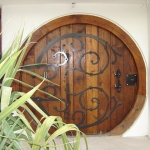 Custom made door - Hobbit