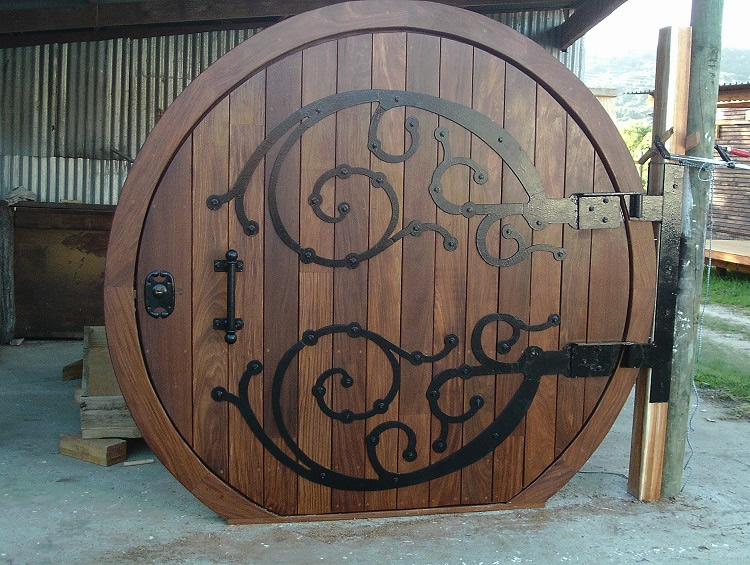 Hobbit door custom made hobbit door - Used exterior doors for sale near me ...