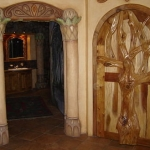 arched bedroom door 2