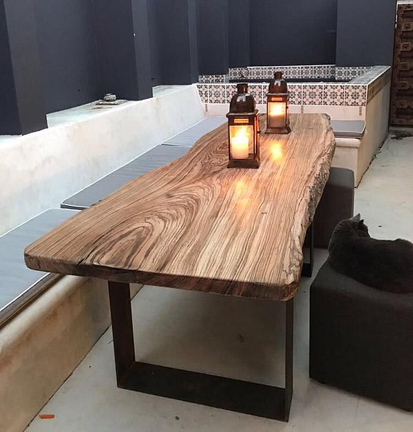 Custom Made Tables Handmade Knysna Woodworkers
