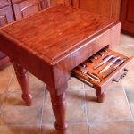 Butcher's Block Table