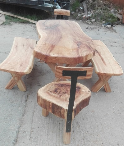 Attrayant Some Examples Of Beautiful Rustic Furniture Straight From My Workshop.