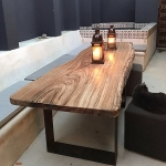 Wooden Slab Table