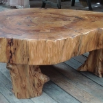 Wooden Slice Coffee Table
