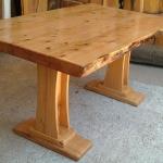 cedar wood table