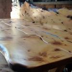 cedar wood table top
