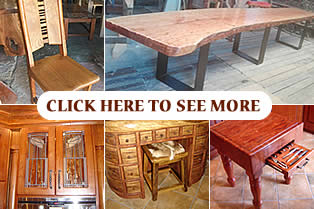 Custom made wood furniture