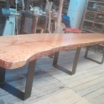 Wooden Slab Table #2